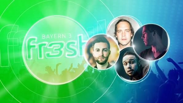 Kostenlose Tickets: Bayern 3 fresh – das neue Hit-Festival