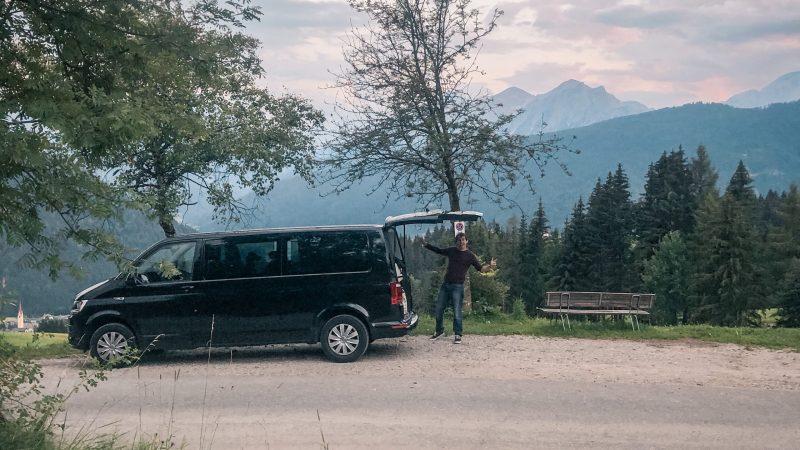 Campervan Dolomiten