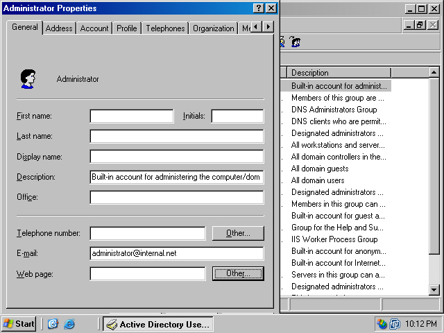 assigning group policy to users