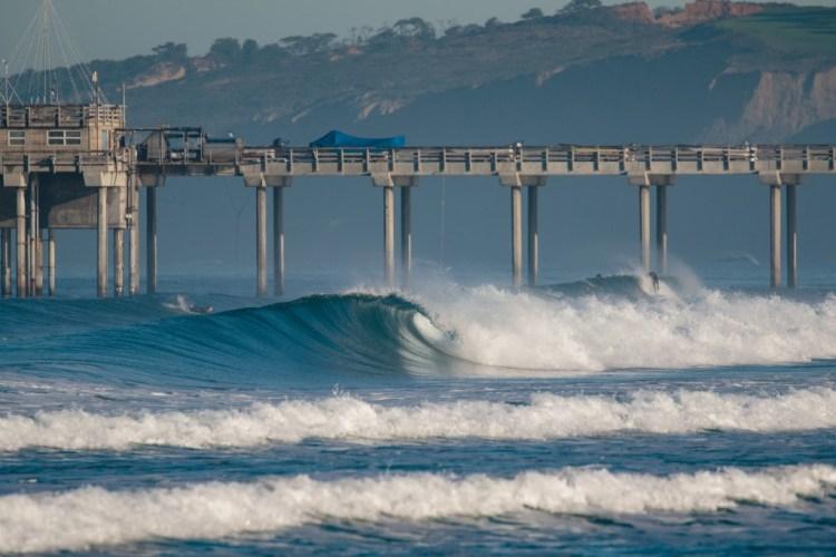 La Jolla Shores continuará siendo sede del Campeonato Mundial. Foto: ISA / Chris Grant