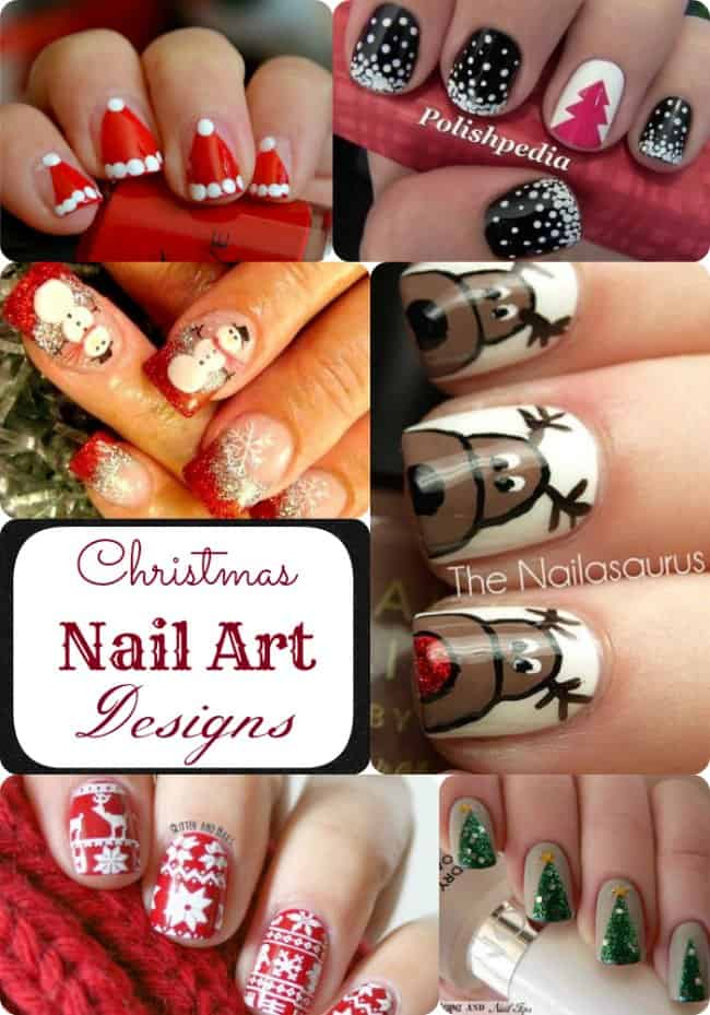 Christmas Nail Art Ideas Simple And Intricate Patterns You Ll Love