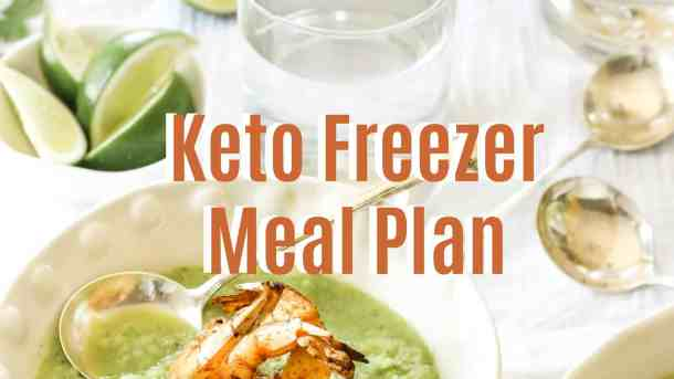Keto Freezer Meal Plan