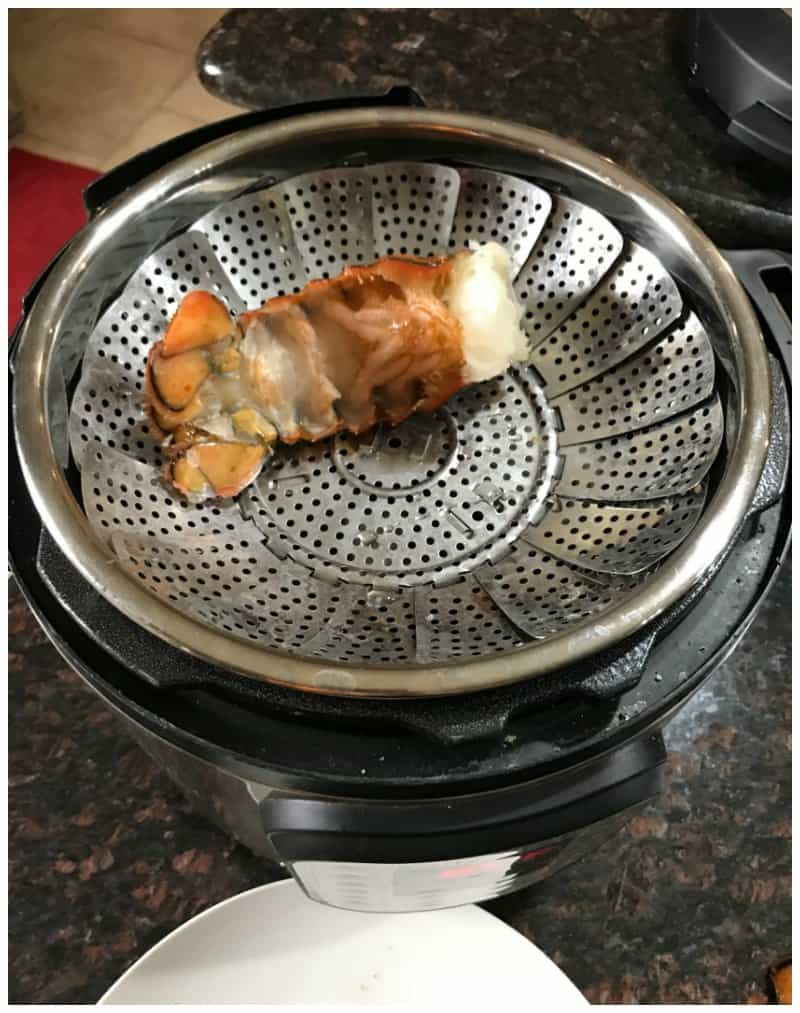 Pressure Cooker Lobster Tails with Butter Sauce - Keto Friendly recipe