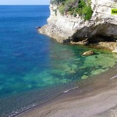 La spiaggia di Cava Grado