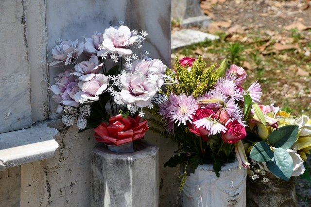 Fiori cimitero di Ischitella