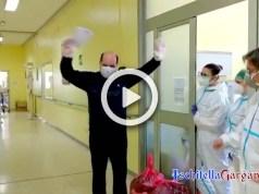 Dimesso paziente Ischitella