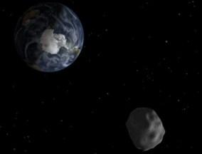 Asteroid 2012 DA14 - Source: NASA.