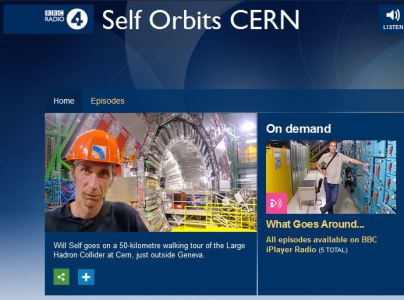 Will Self at CERN