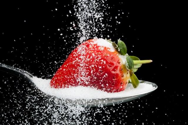 strawberry sugar