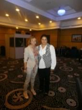 Cristiana con Khadija Errabeh
