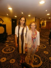 Cristiana con Presidente AMVEF