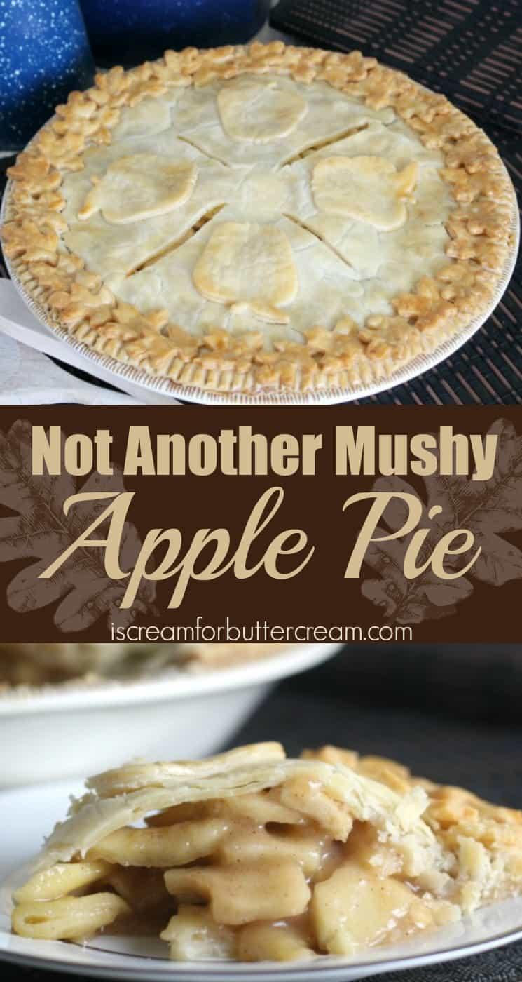 Not Another Mushy Apple Pie