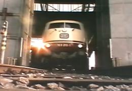 70er Jahre Eisenbahnwerbung