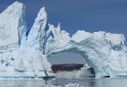 Gletscher bricht zusammen