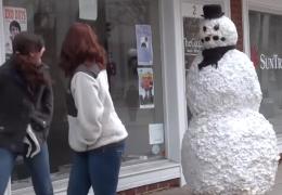 Der Grusel Schneemann