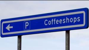 coffeeshops verkeerdbord
