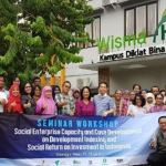 ISEA holds Social Enterprise Capacity and Case Development Workshop on Development Indexing and Social Return on Investment in Indonesia