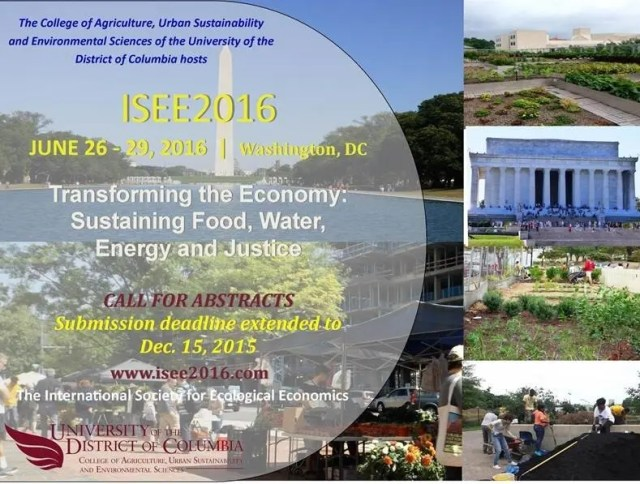 ISEE2016 Abstracts