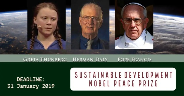 Peace Prize Proposal for Sustainable Development