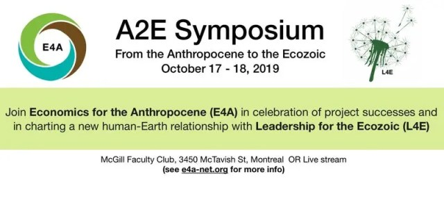 Anthropocene to the EcoZoic