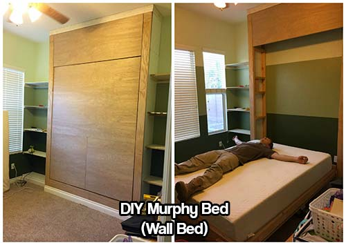 Diy Murphy Bed Wall Bed Iseeidoimake