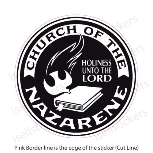 Church of The Nazarene Evangelical Christian Decal Sticker