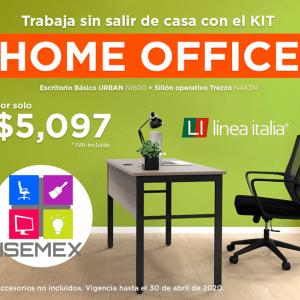 Paquete Home Office Línea Italia