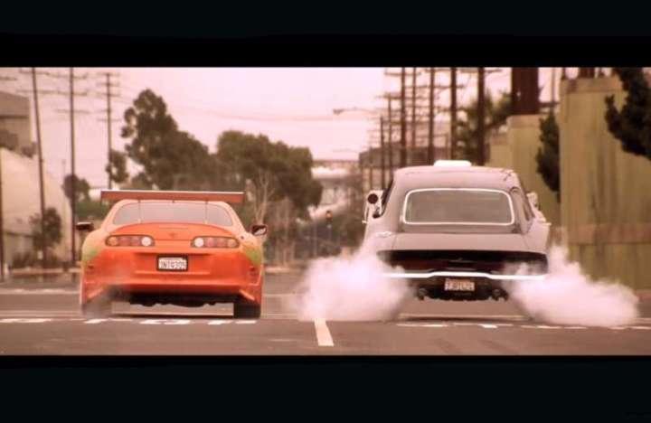 Paul Walkers Toyota Supra