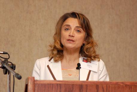 Prof. Oliana Carnevali from Università Politecnica delle Marche in Italy