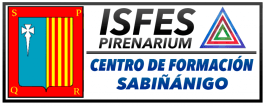 logo centro de formación sabiñanigo isfes pirenarium