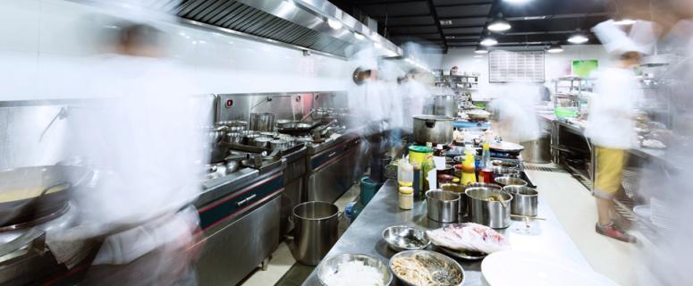 Gestión y organización de la producción en cocina