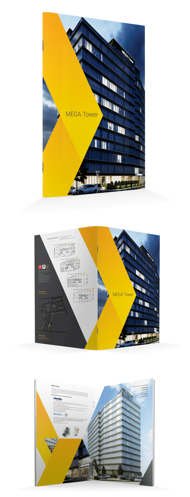 MEGA Tower brochure on Behance