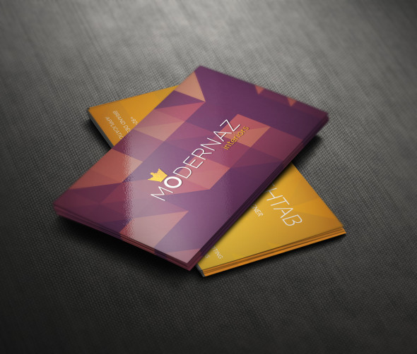 Free Business card psd front