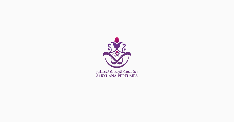 Arabic perfume logo design2