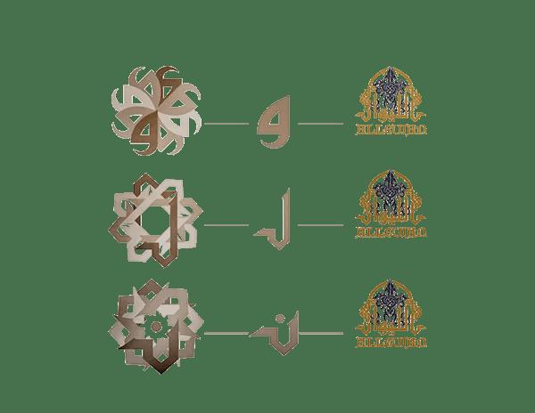 Traditional Arabic Restaurant Logo Design