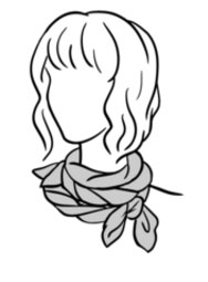 RedBubble Scarf Styling Information