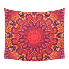 Sold! ❤ Sunburst Mandala, Abstract Circle Dance Wall Tapestry