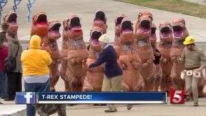 T. Rex Stampede Through Nashville