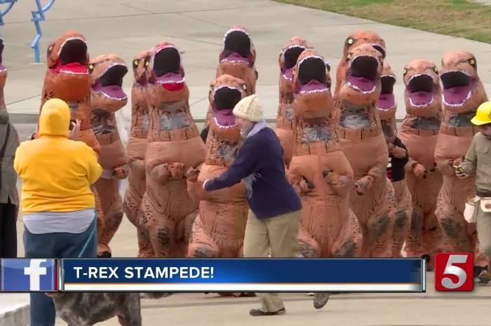 3rd Annual T.Rex Stampede Coming in Oct