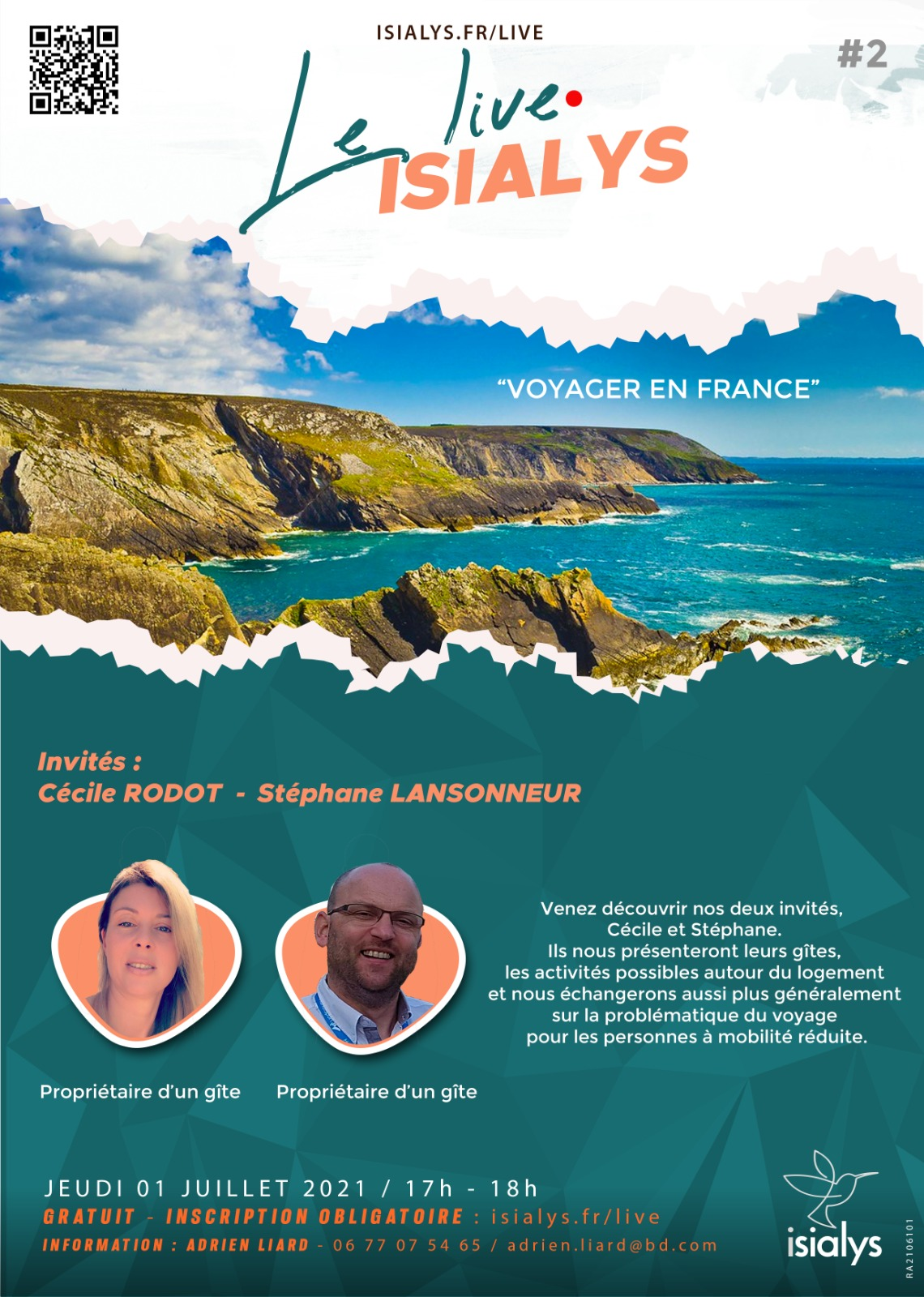 Live isialys n°2 - affiche