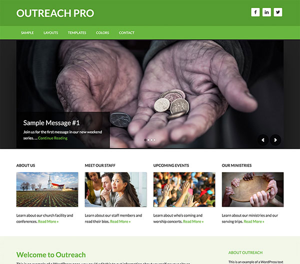 StudioPress Outreach Pro Review