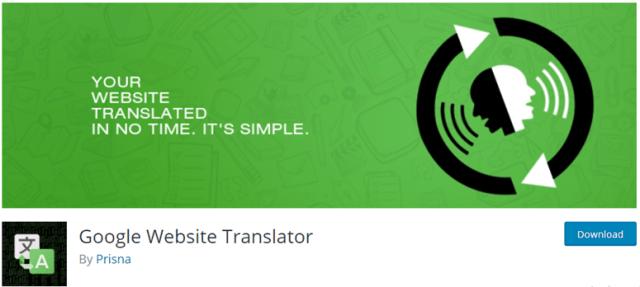 مترجم موقع جوجل