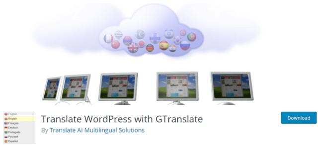 ترجمة gtranslate
