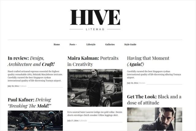 hive-wordpress-theme