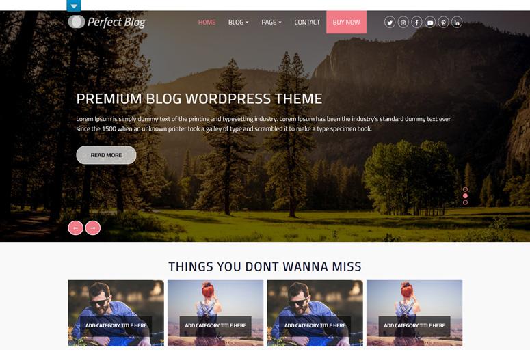 perfetto-blog-wordpress-tema