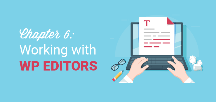 chapter 6 working with wp editors