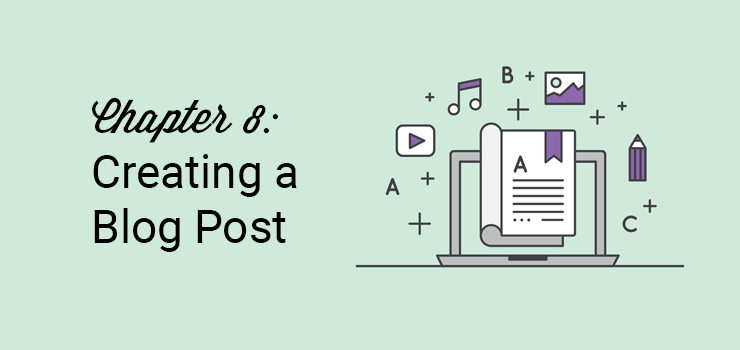 chapter 8 creating a blog post