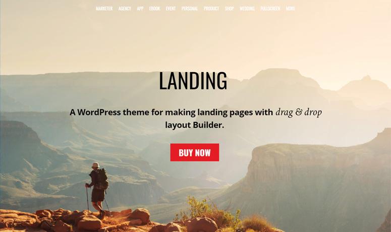 themify-landing-tema