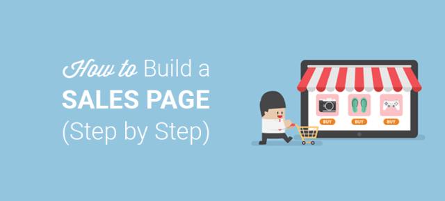 كيفية إنشاء صفحة مبيعات في WordPress