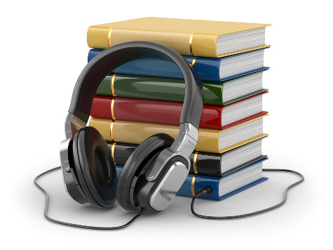 Image result for images of audiobooks and books